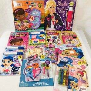 Little Girls Book Lot My Little Pony Minnie Mouse